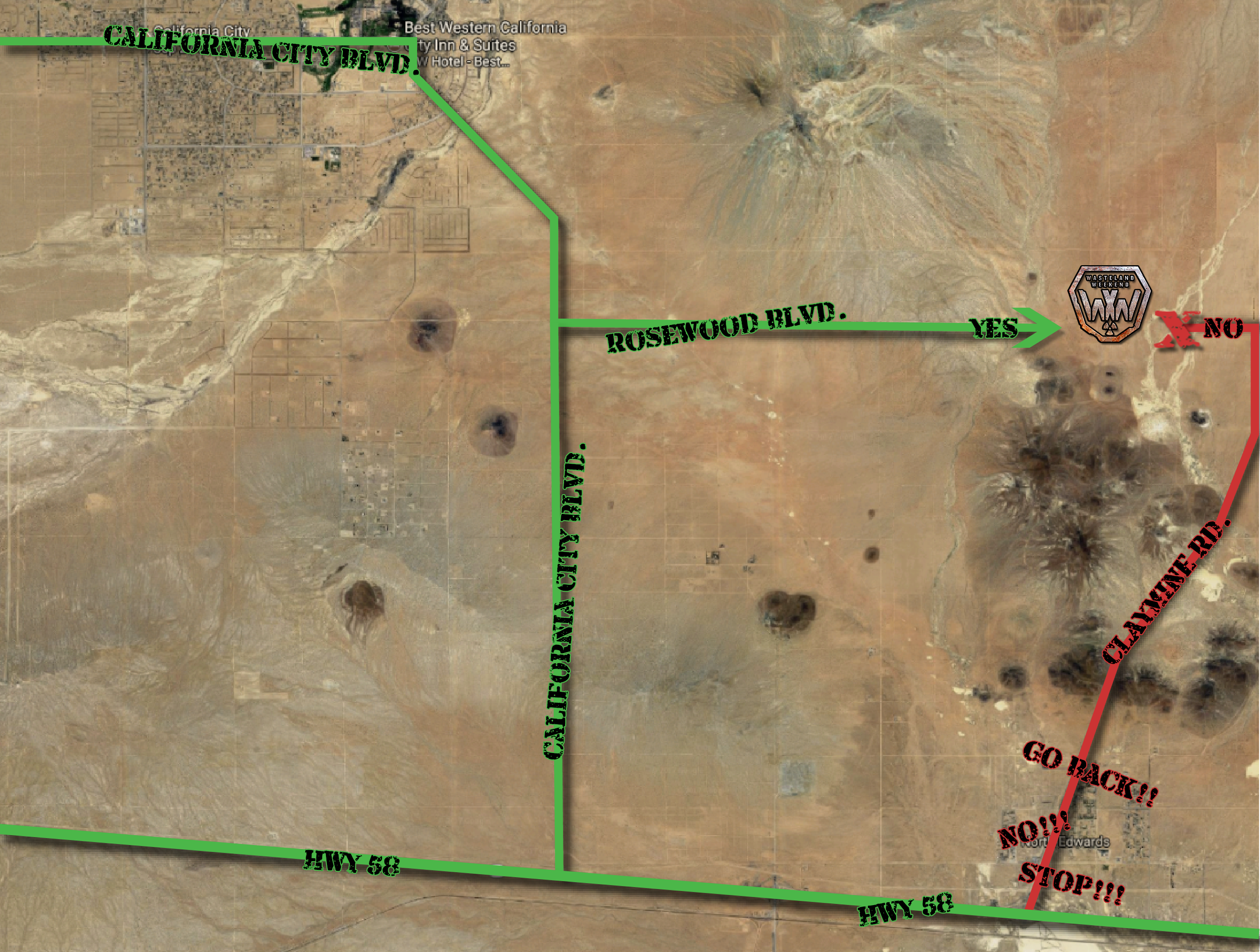 Maps Wasteland Weekend