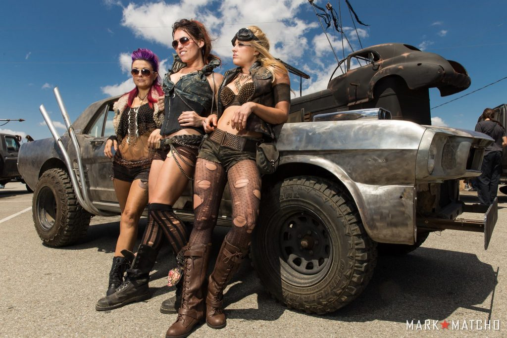 Wasteland World Car Show Wasteland Weekend - Car show dolls